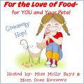 Win $15 Amazon GC in #PetandPeopleFoodHop Giveaway Hop