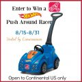 Win a Hot Wheels Push Around Racer by Step2