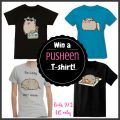 PUSHEEN T-shirt of Choice Giveaway