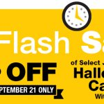 One Day Jumbo Bag Halloween Candy Flash Sale at Kroger September 21