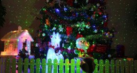 1byone Outdoor Garden Christmas Laser Lights Perfect and Easy Decoration