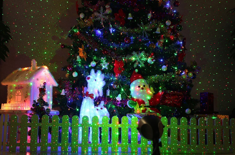 1byone outdoor garden christmas laser lights perfect and easy 71bf7b47jl sl1000 aloadofball Images