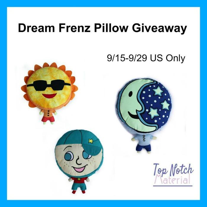 Win a super fun Dream Frenz Pillow of choice