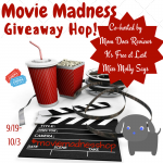 Movie Madness Hop Giveaway – Win $20 AMC Movie GC #MovieMadnessHop