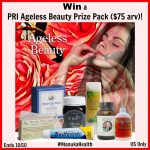 Ageless Beauty Prize Pack from PRI ($75 arv) Giveaway! #ManukaHealth