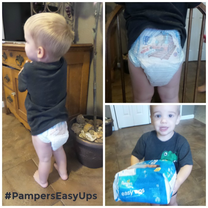 Description. Pampers Easy Ups Trainers. Pampers® Easy Ups™ are the easiest way to wear underwear. Pampers Easy Ups Training Underwear have a ° stretchy waistband that moves with your toddler, giving her a fit that's just like real underwear. The elastic waistband helps her to pull up Easy Ups with ease, like a big girl.