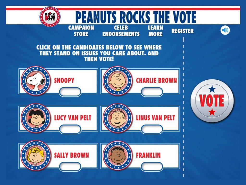 peanuts-rock-vote