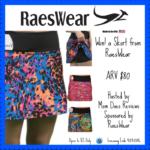 RaesWear Skort – Winner's Choice (arv $80) Giveaway!