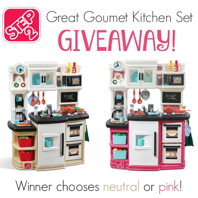 Step2 great gourmet kitchen set giveaway it 39 s free at last for Kitchen set 2 warna