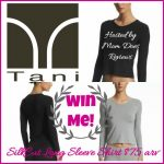 Tani SilkCut Long Sleeve Shirt Giveaway!