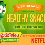 New VeggieTales in the House Now Available on Netflix PLUS Free Activity Sheets