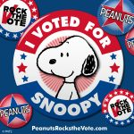Peanuts Rock The Vote Prize Pack & Free Printables #PeanutsRockTheVote