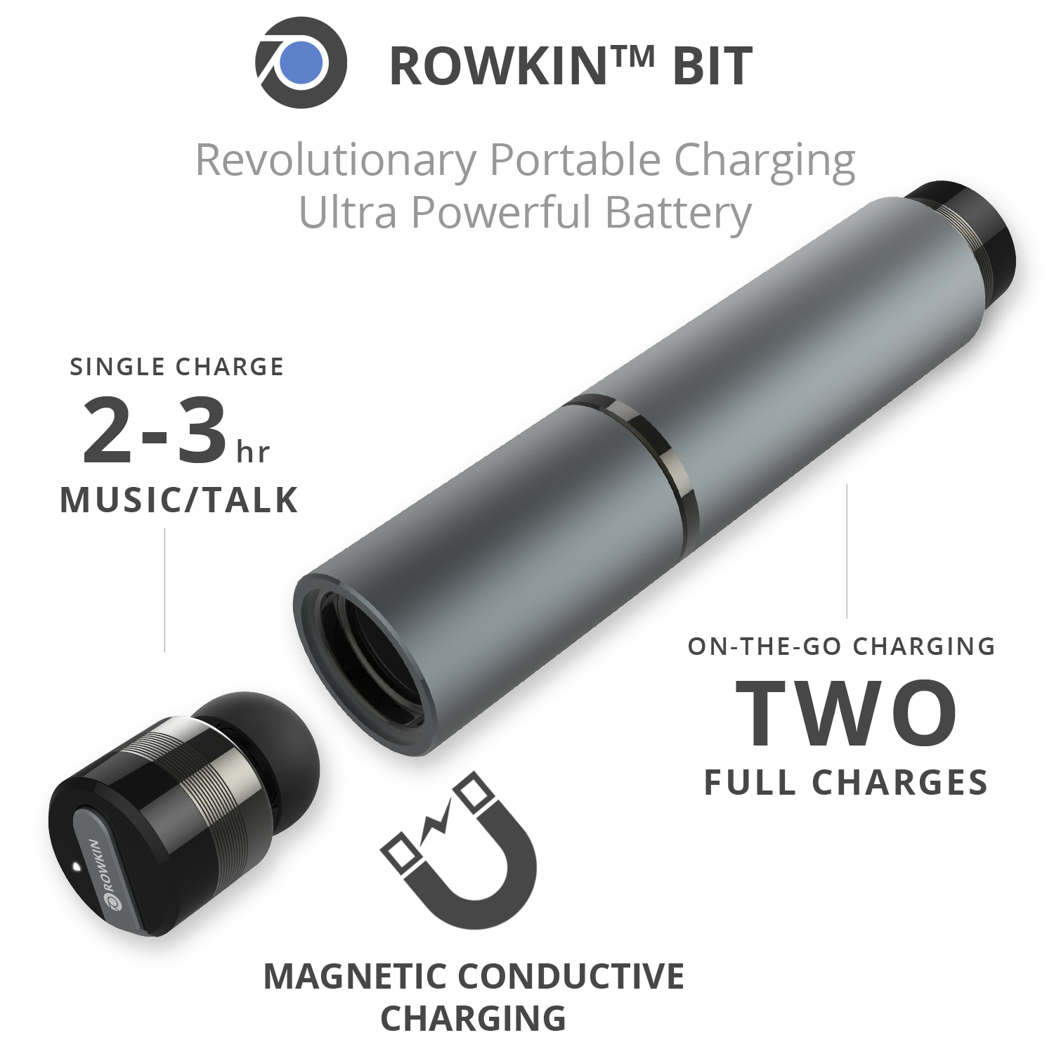 rowkin wireless earbuds latest in wireless technology it 39 s free at last. Black Bedroom Furniture Sets. Home Design Ideas