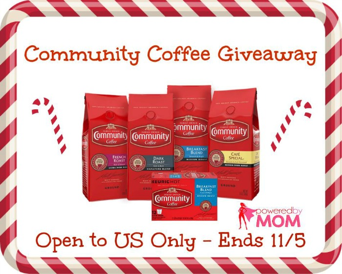 Community Coffee Giveaway Button
