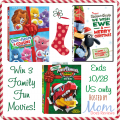 3 Family Fun Movies Giveaway!