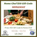 Home Chef $50 Gift Code Giveaway!