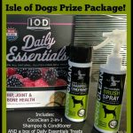 Isle of Dogs Natural Grooming Products & Dog Treats Prize Pack (arv $28) Giveaway!