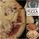 Celebrate National Pizza Month with Mama Mary's Pizza Crust!