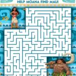 Free Moana Coloring Sheets #Moana – In Theaters November 23rd