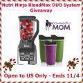Nutri Ninja BlendMax DUO System Giveaway!