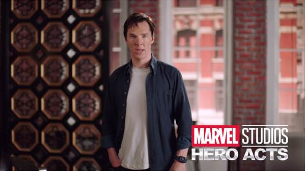 Benedict Cumberbatch Marvel Hero Acts