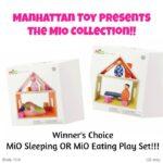 MiO Eating OR MiO Sleeping Play Set Giveaway!