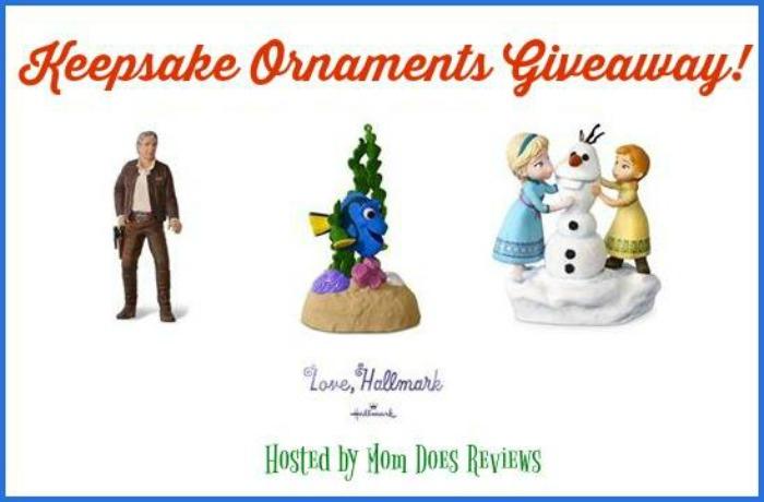 Hallmark Keepsake Ornaments Giveaway! #LoveHallmark #KeepsakeIt - It's Free At Last