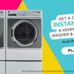 Win a Kenmore Elite Washer & Dryer from Shop Your Way