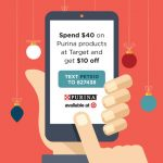 Spend $40 on Purina Products at Target – Get $10 Off #Txt4Pet