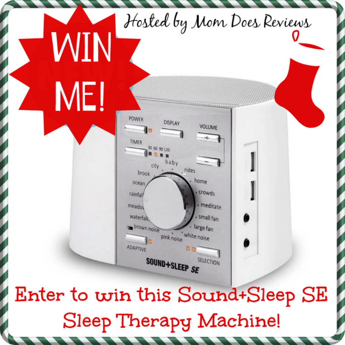 sound sleep se sleep therapy machine giveaway it 39 s free at last. Black Bedroom Furniture Sets. Home Design Ideas