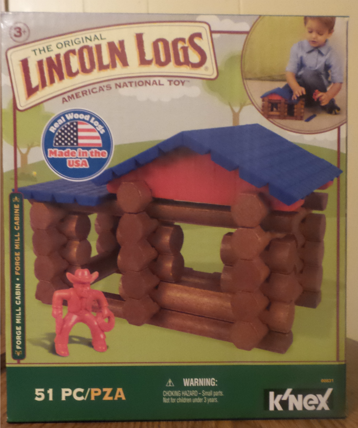 Enter the Lincoln Logs Forge Mill Cabin Set Giveaway. Ends 11/25