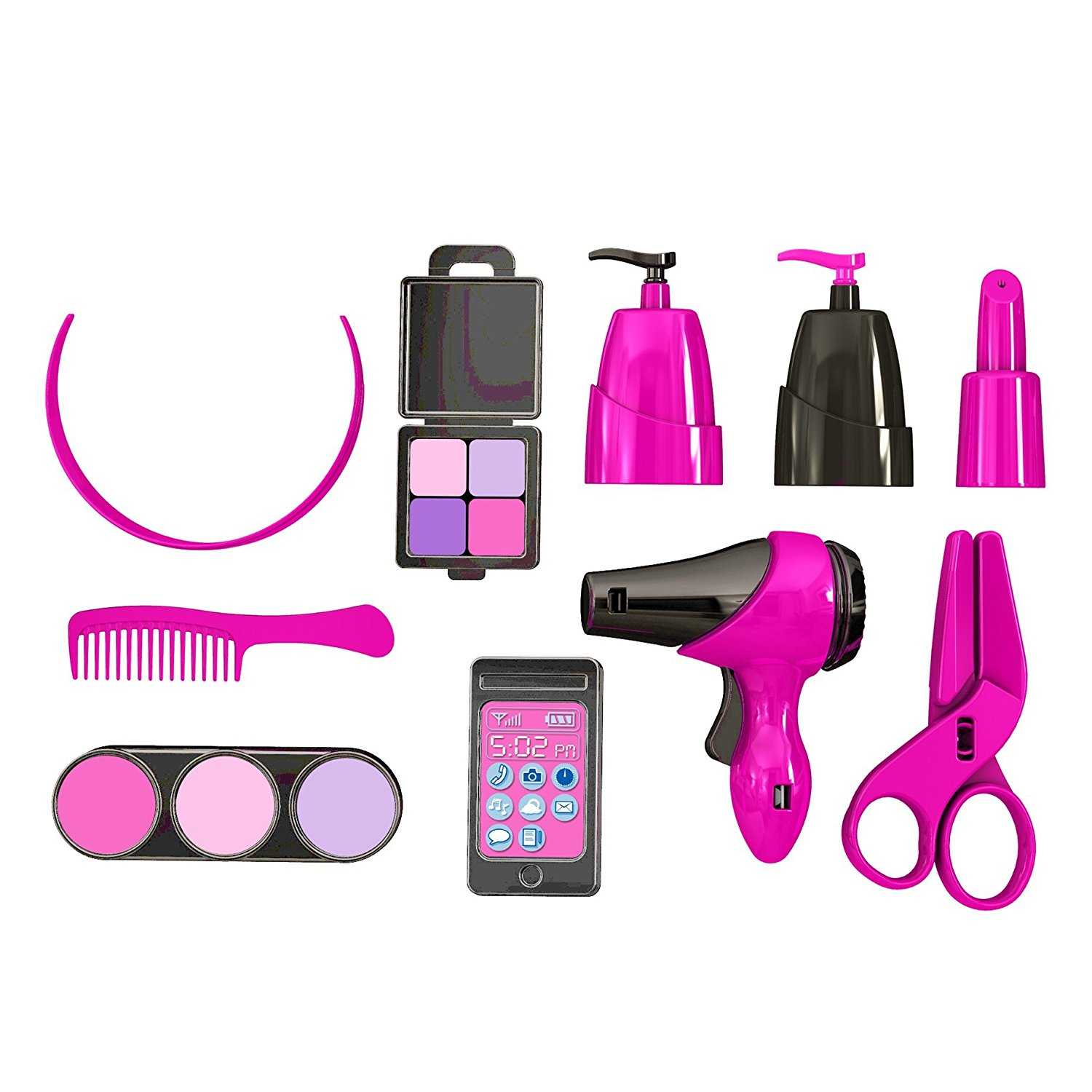 American plastic toys inc deluxe beauty salon perfect for for Accessories for beauty salon