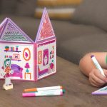 Build and Imagine Draw and Build Dollhouse Perfect Christmas Gift for Girls #ChristmasFAL16