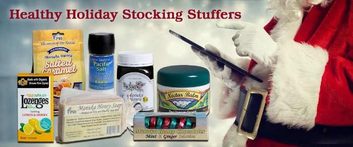 Healthy Holiday Stocking Stuffers