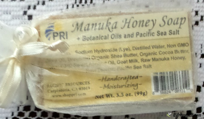 Manuka & New Zealand Sea Salt Soap