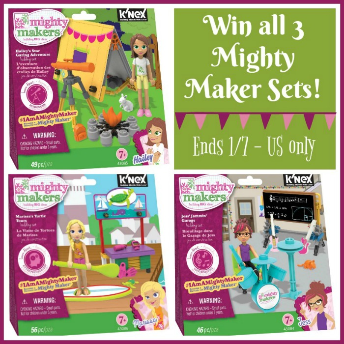 Mighty Makers K'NEX Building Sets