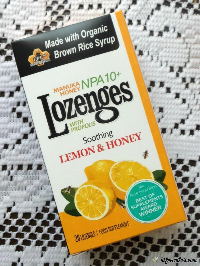 Propolis and Manuka Honey Lozenges - Lemon & Honey