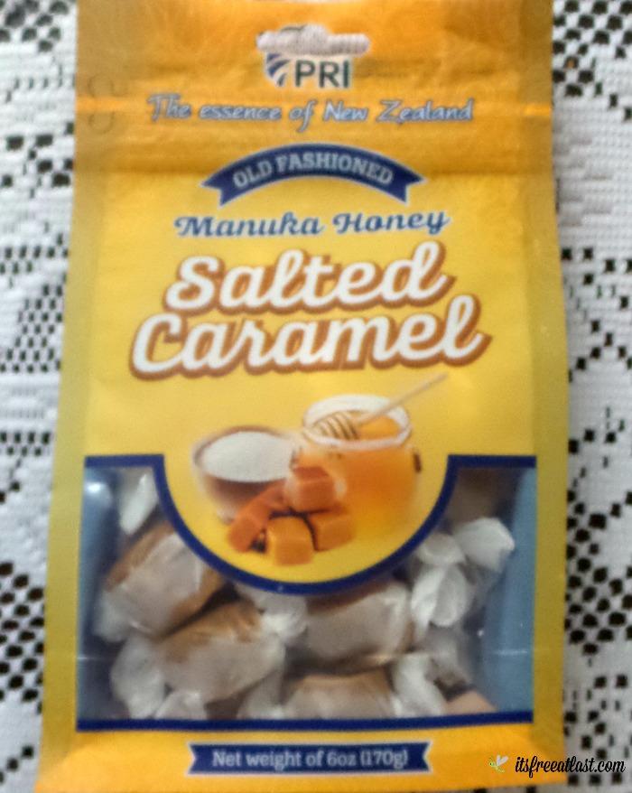 Salted Manuka Honey Caramels