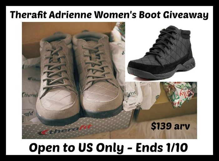 Therafit Adrienne Women's Boot Giveaway!