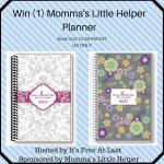 Momma's Little Helper Planner Giveaway