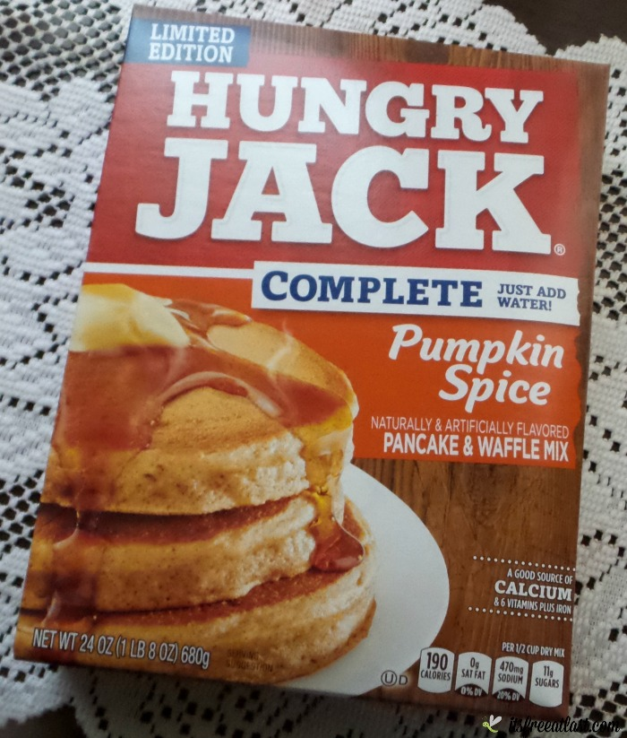 Hungry Jack Pumpkin Spice Pancake Mix