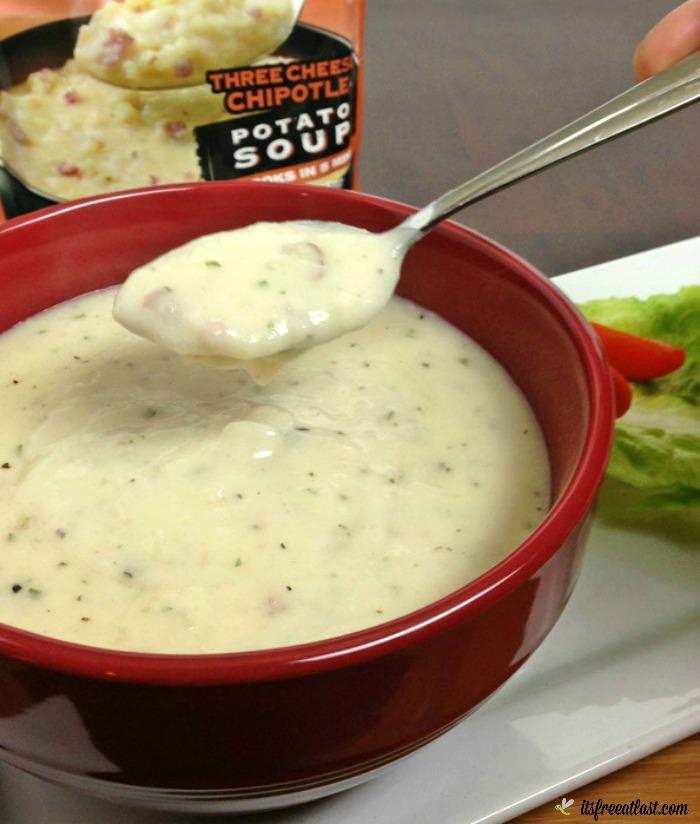 Idahoan Steakhouse Soup