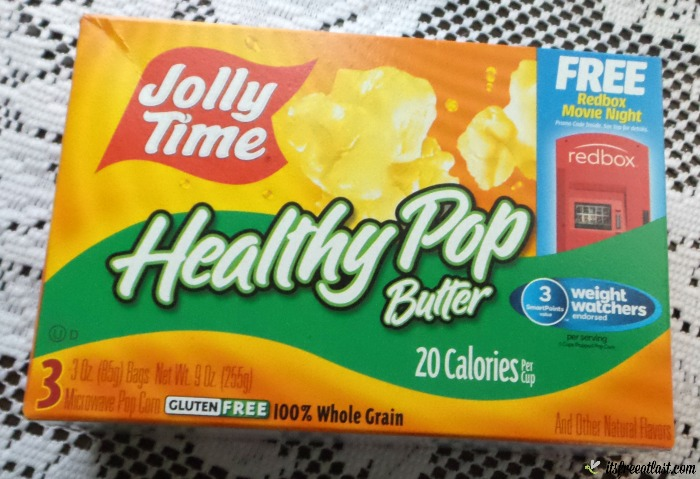 Jolly Time's Healthy Pop Butter Microwave Pop Corn