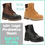 LUGZ Mallard Men's Boots Giveaway
