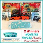 MONSTER TRUCKS Family Fun Pack Giveaway! 2 Winners!