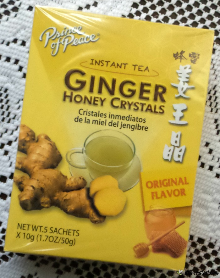Prince of Peace Ginger Honey Crystals