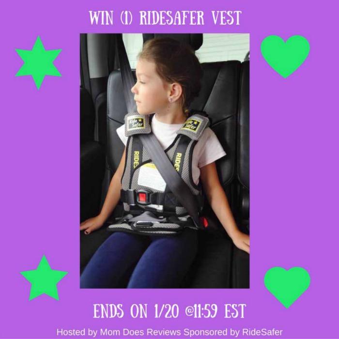 RideSafer Vest Giveaway!
