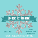 Jeepers It's January Giveaway Hop – Win a $20 Amazon Gift Card