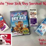 Sick Day Survival Kit Giveaway #SickJustGotReal
