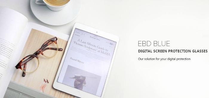 EBD Blue Digital Screen Protection Glasses